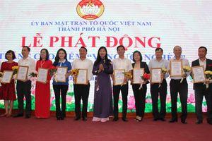 Thành phố Hà Nội phát động Tháng cao điểm 'Vì người nghèo' năm 2019