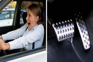 Hướng dẫn cách xử khi lý ô tô đang chạy bị kẹt chân ga