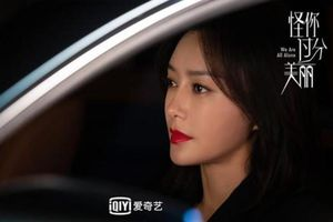 Hậu trường 'Trách em sao quá xinh đẹp': Tần Lam thể hiện phong thái nữ cường nhân