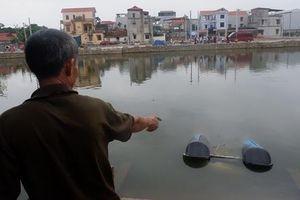 Cận cảnh hồ cá nơi lật thuyền vịt chở 5 người khiến 2 cháu bé tử vong