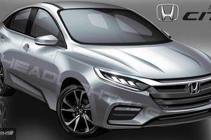 Honda City 2020 sắp ra mắt có ngoại hình 'lột xác' thế nào?
