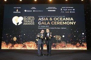 Freser Suites HaNoi của BIM Land đạt giải World Travel Awards 2019