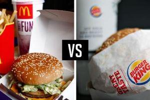 Những màn 'cà khịa' vô tận giữa Burger King và McDonald