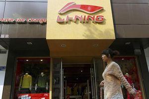 Li Ning là cổ phiếu thời trang thể thao 'nóng' nhất thế giới