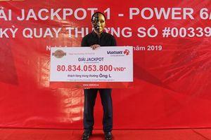 Kết quả Vietlott: Trao hơn 80 tỷ đồng cho chủ nhân giải Jackpot 1 tại Nghệ An