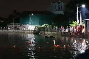 Hà Nội: Bơi thuyền bị lật, 2 bé gái đuối nước thương tâm