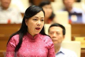 Quốc hội sẽ miễn nhiệm Bộ trưởng Y tế Nguyễn Thị Kim Tiến