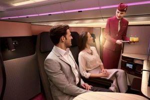Hé lộ những dịch vụ đặc biệt của Hạng Thương gia trên các chuyến bay