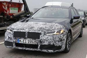 Lộ diện nội thất BMW 5-Series 2020 phiên bản nâng cấp