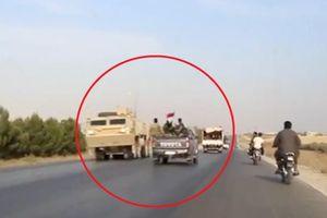 Cuộc gặp 'bất đắc dĩ' giữa binh sĩ Mỹ và quân đội Syria
