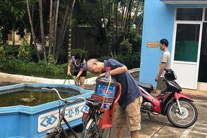 Viwasupco tiếp tục tạm ngừng cấp nước khu vực tây Hà Nội