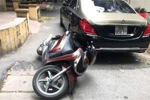 Lái siêu xe Maybach đánh người vì phản ánh đỗ giữa đường