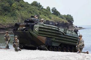 Chơi với Nga – Trung, Philippines vẫn tập trận cùng Mỹ
