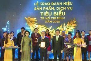 Nước giải khát Bidrico đạt danh hiệu 'Sản phẩm, dịch vụ tiêu biểu TP.HCM' năm 2019