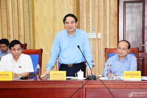 Bí thư Tỉnh ủy Nguyễn Đắc Vinh: Vấn đề liên quan đến người dân phải đặc biệt quan tâm giải quyết