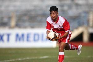 U.21 Phố Hiến loại U.21 TP.HCM trong trận đấu 4 bàn thắng