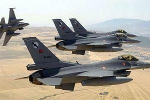 Sự thực Su-35 Nga đánh chặn F-16 Thổ Nhĩ Kỳ ném bom Manbij?