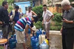 Tổng giám đốc Viwaco: Hỗ trợ súc xả bể, chưa thu tiền nước tháng 10