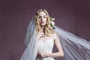 những mẫu váy cưới đẹp nhất trên sàn catwalk thu đông 2019, ai ngắm cũng mơ làm cô dâu