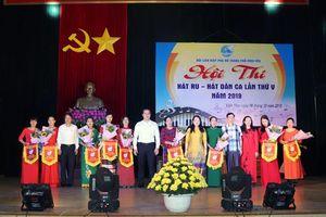 Vĩnh Phúc: Vĩnh Yên khơi dậy phong trào hát ru, hát dân ca