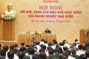 Thủ tướng chủ trì Hội nghị đổi mới, nâng cao hiệu quả hoạt động DNNN