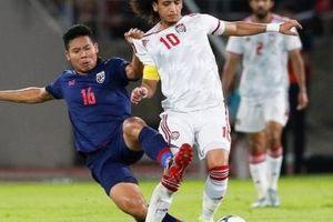 Thái Lan đặt đội tuyển Việt Nam và UAE vào thế quyết đấu