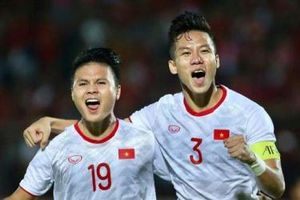Thắng Malaysia và Indonesia, đội tuyển Việt Nam tăng 2 bậc trên bảng xếp hạng FIFA