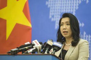 Bộ Ngoại giao thông tin về phản hồi của các nước ASEAN đối với vấn đề Biển Đông