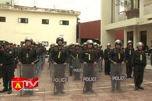 Trung đoàn CSCĐ - CATP Hà Nội triển khai đơn vị mới