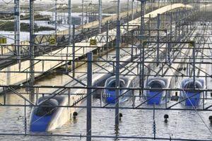 Sau siêu bão, Nhật có thể mất 120 toa tàu tổng trị giá 276 triệu USD