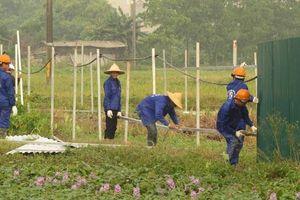 Phú Xuyên bàn giao mặt bằng sạch thực hiện dự án TBA 110Kv