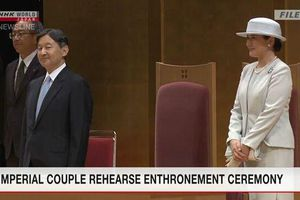 Nhật Bản có thể hoãn diễu hành sau lễ đăng quang của Nhật hoàng