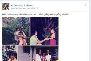 Xem ảnh ngày trẻ của bố mẹ sao Việt, hiểu vì sao showbiz nhiều mỹ nhân đến thế