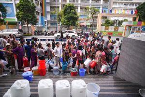 Tạm dừng cấp nước vô thời hạn, Công ty nước sạch Sông Đà mong dân thông cảm