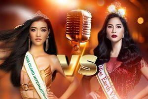Cùng đại diện Việt Nam tham gia đấu trường sắc đẹp quốc tế nhưng 'đọ' giọng hát Kiều Loan và Hoàng Hạnh, bạn về team ai?