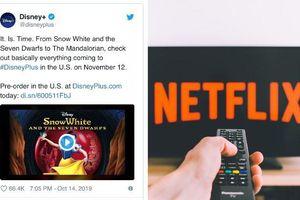 Disney công bố danh sách phim có sẵn: Sẵn sàng chinh chiến với Netflix!