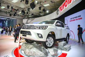 Phân khúc xe bán tải tháng 9.2019, Toyota Hilux vụt sáng