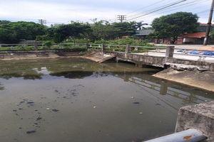 'Dòng sông chết' giữa thành phố Thái Bình