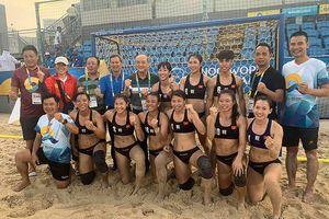 ĐT bóng ném nữ Việt Nam giành hạng tư giải bóng ném bãi biển thế giới 2019