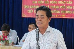 Ông Lê Thanh Quang thôi làm Bí thư Tỉnh ủy Khánh Hòa