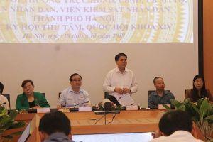 Chủ tịch UBND TP. Hà Nội Nguyễn Đức Chung: 'Đừng đổ hết lỗi tắc đường là do xây nhà cao tầng'