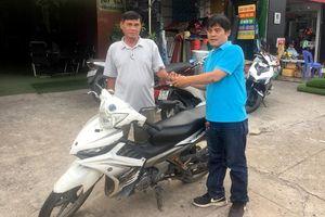Hiệp sĩ Nguyễn Thanh Hải trả chiếc Exciter dùng bắt cướp