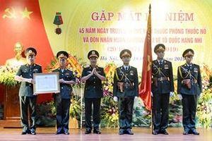 Viện Thuốc phóng thuốc nổ đón nhận Huân chương Bảo vệ Tổ quốc hạng Nhì
