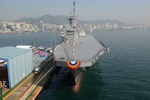 Hàn Quốc khởi động chương trình đóng tàu sân bay nội địa