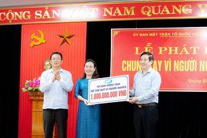 Quảng Bình: Tập đoàn Trường Thịnh ủng hộ quỹ vì người nghèo 1 tỷ đồng