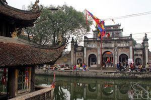 Chùa Nành một trong bốn ngôi chùa thờ Tứ Pháp lớn nhất miền Bắc Việt Nam