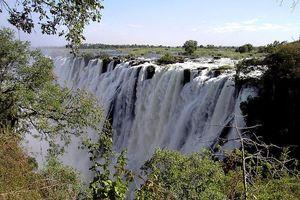 Chào buổi sáng với thác nước Victoria - một trong những thác nước đẹp nhất thế giới
