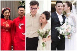 24 giờ xào xáo của showbiz Việt: Người vui cười kết tóc phu thê, kẻ ngậm ngùi tiễn đưa hạnh phúc