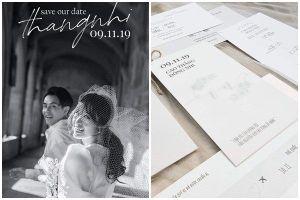 Lộ thiệp cưới giản dị của Đông Nhi và Ông Cao Thắng, 500 khách mời được cô dâu chú rể đài thọ toàn bộ kinh phí