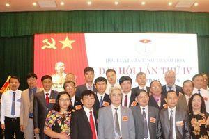 Hội Luật gia tỉnh Thanh Hóa tổ chức đại hội nhiệm kỳ 2019 – 2024 và ra mắt BCH khóa mới
